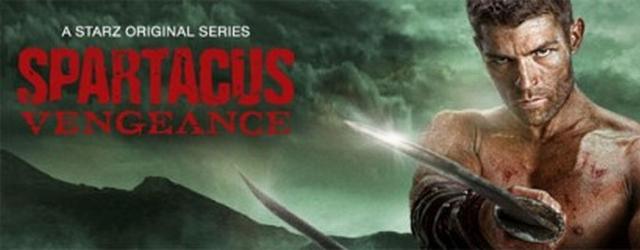 Spartacus: Vengeance, il primo poster e video promozionale