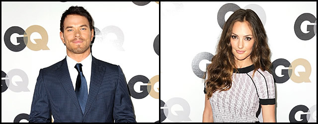 Minka Kelly e Kellan Lutz al GQ Men Of The Year Party