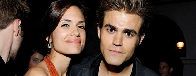 The Vampire Diaries: Torrey DeVitto e Paul Wesley dalla parte degli animali