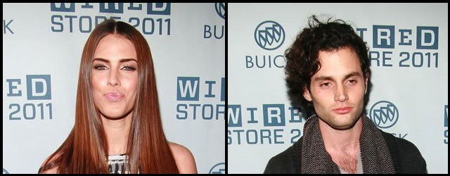 Penn Badgley e Jessica Lowndes al Wired Store Opening Party