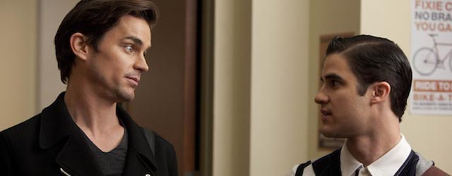 "Glee: Matt Bomer e Darren Criss cantano ""Somebody That I Used To Know"""