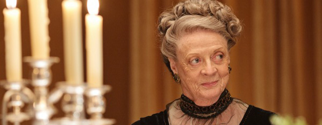 Downton Abbey: Maggie Smith non ha mai guardato la serie tv