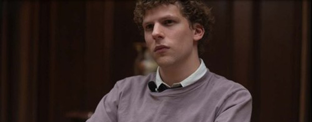 Jesse Eisenberg special guest star in The Newsroom