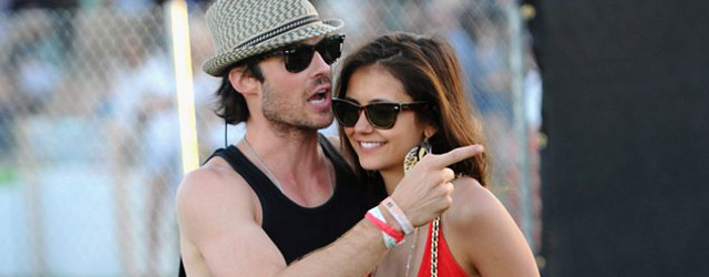 The Vampire Diaries: Ian Somerhalder e Nina Dobrev in vacanza separati