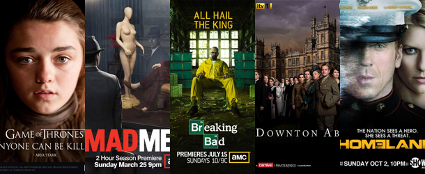 Television Critics Association Awards 2012 – Le nomination