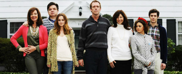 Leighton Meester, Hugh Laurie e Adam Brody nel trailer del film The Oranges