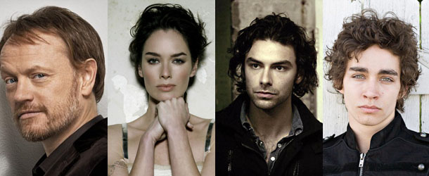 Lena Headey, Jared Harris, Robert Sheehan e Aidan Turner nel cast del film 'The Mortal Instruments'