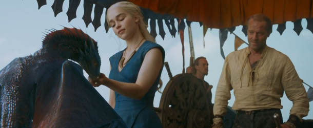 Game of Thrones: Emilia Clarke nel cast di The Garden of Last Days di James Franco