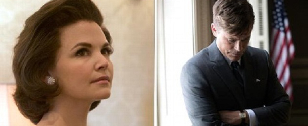 Once Upon a Time: Ginnifer Goodwin sarà Jacqueline Kennedy nel film per la TV 'Killing Kennedy'.