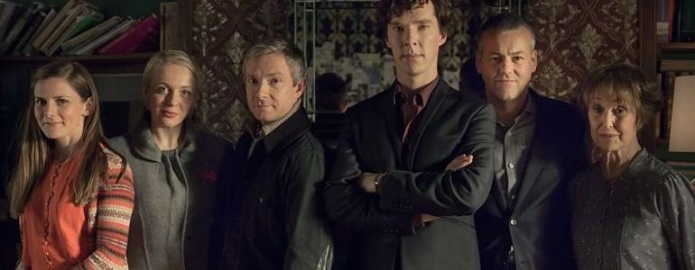 Sherlock: La prima foto dello speciale con Martin Freeman e Benedict Cumberbatch