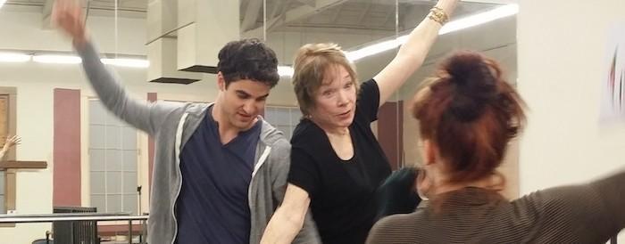 Glee: Shirley MacLaine guest-star in un arco di episodi al fianco di Darren Criss