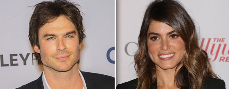 The Vampire Diaries: Ian Somerhalder e Nikki Reed sono una coppia?