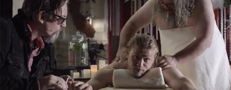 Sons of Anarchy: un simpatico video di Charlie Hunnam per il Comic-Con 2014