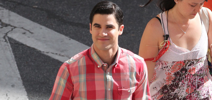 Glee: Darren Criss fa il tifo per Kurt e Blaine