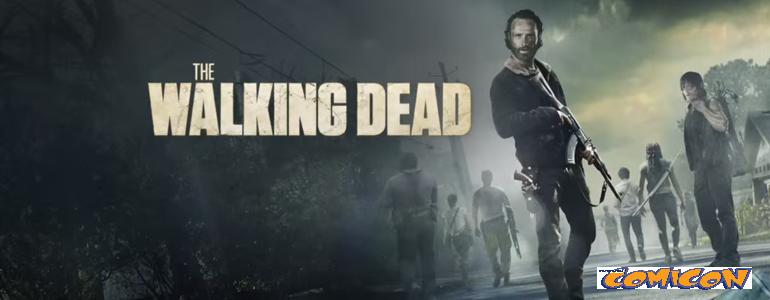 napoli Comicon 2016- The Walking Dead