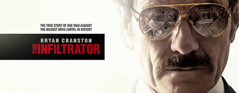 The Infiltrator: il trailer del nuovo film di Bryan Cranston