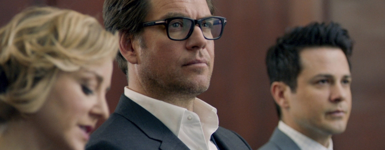 BULL stars Michael Weatherly  (center) as Dr. Jason Bull in a drama inspired by the early career of Dr. Phil McGraw, the founder of one of the most prolific trial consulting firms of all time. Bull employs an enviable team of experts at Trial Analysis Corporation, including his quick-witted brother-in-law, Benny Colón (Freddy Rodriguez), who plays a defense attorney in mock trials; Marissa Morgan (Geneva Carr), a cutting-edge neurolinguistics expert from the Department of Homeland Security.  This fall, BULL will be broadcast Tuesdays (9:00-10:00 PM, ET/PT) on the CBS Television Network.  Photo: CBS ©2016 CBS Broadcasting, Inc. All Rights Reserved