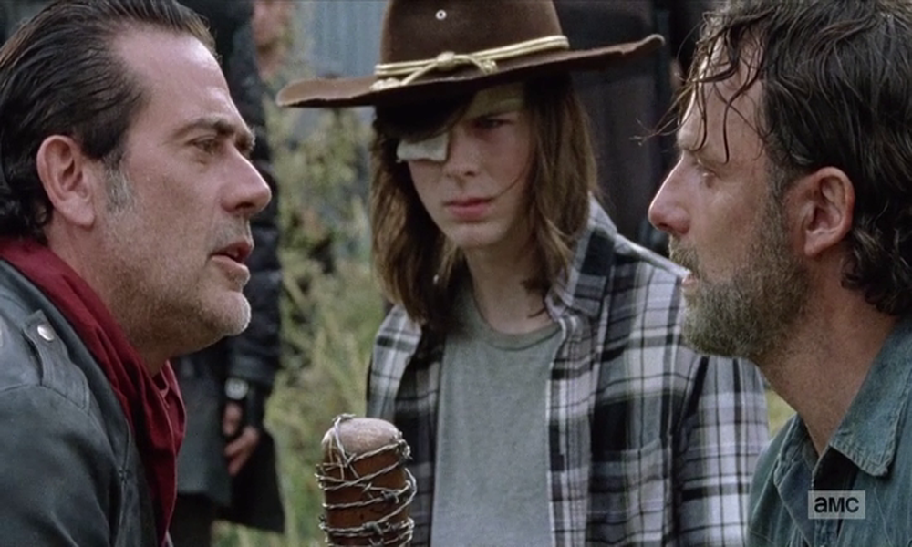 Walking Dead negan e rick