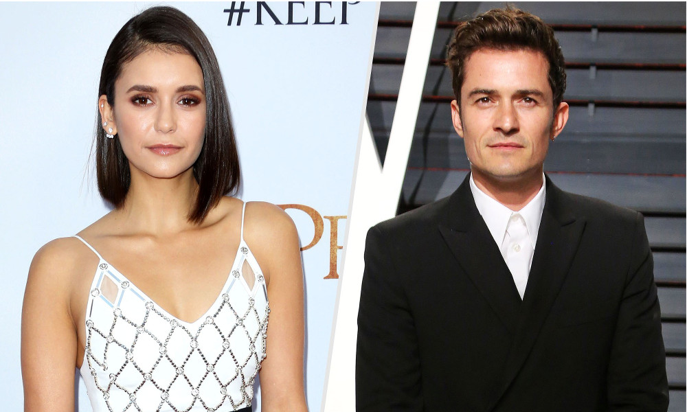 Nina Dobrev Orlando Bloom