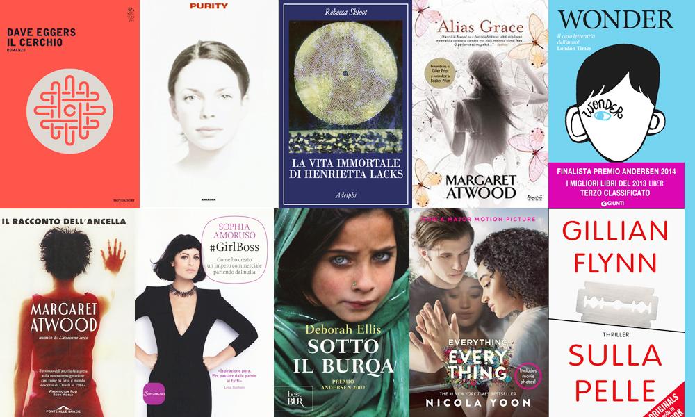 Dal libro allo schermo i 12 romanzi da leggere e regalare for Bei romanzi da leggere
