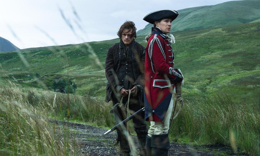 Outlander, Jaime e John Gray