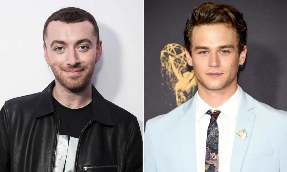 Brandon Flynn di 13 sta con Sam Smith