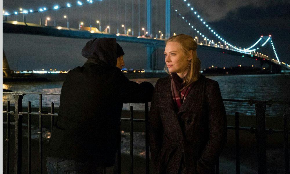 The Punisher: Jon Bernthal e Deborah Ann Woll in una scena della prima stagione