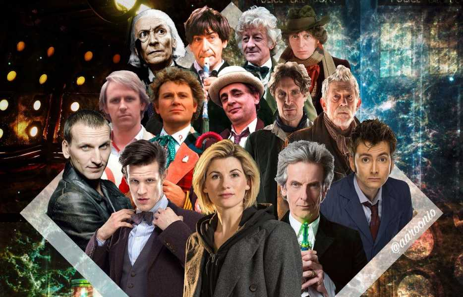 Doctor Who all regenerations