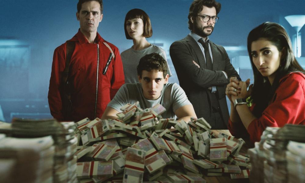 La casa di carta il cast telefilm central for La casa di carta 2 episodi