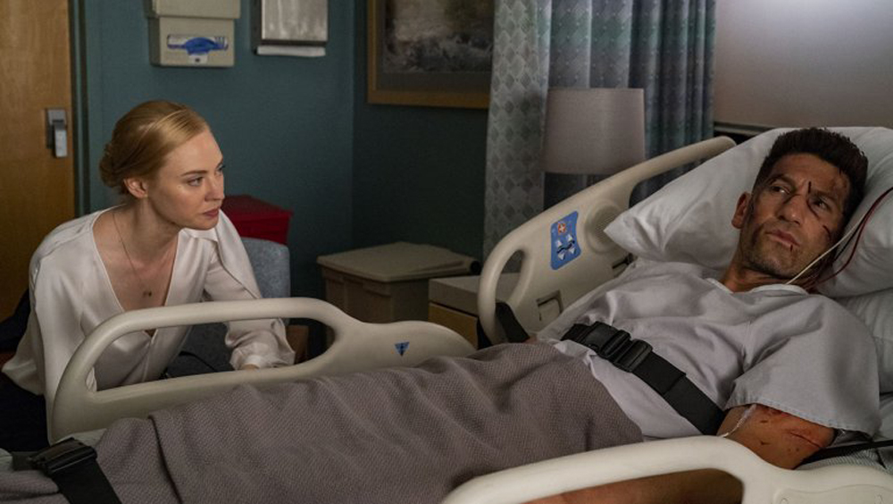 Karen Page e Frank Castle