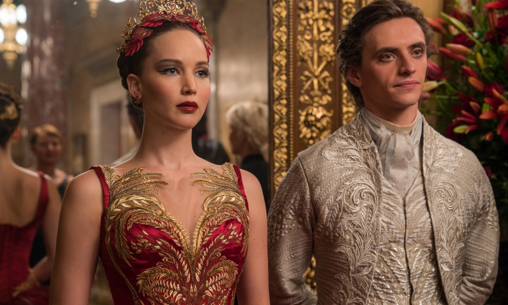 Jennifer Lawrence nel film Red Sparrow