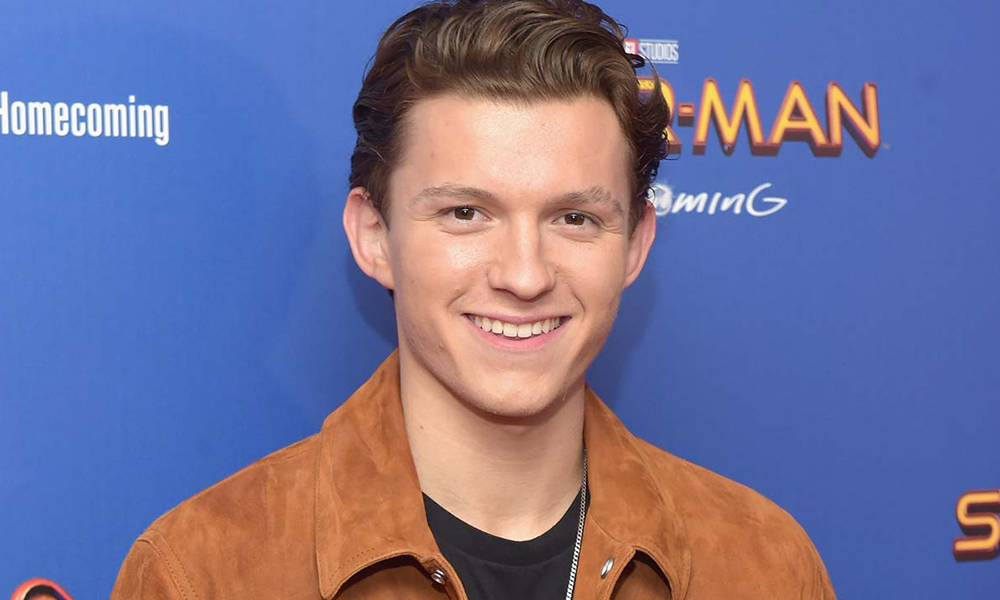 tom holland spiderman