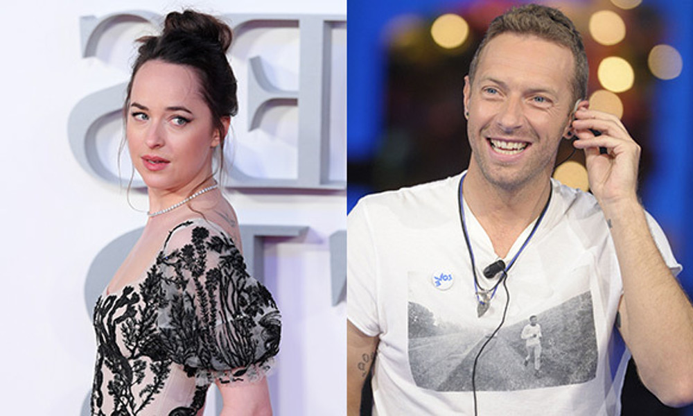 Dakota Johnson e Chris Martin escono insieme
