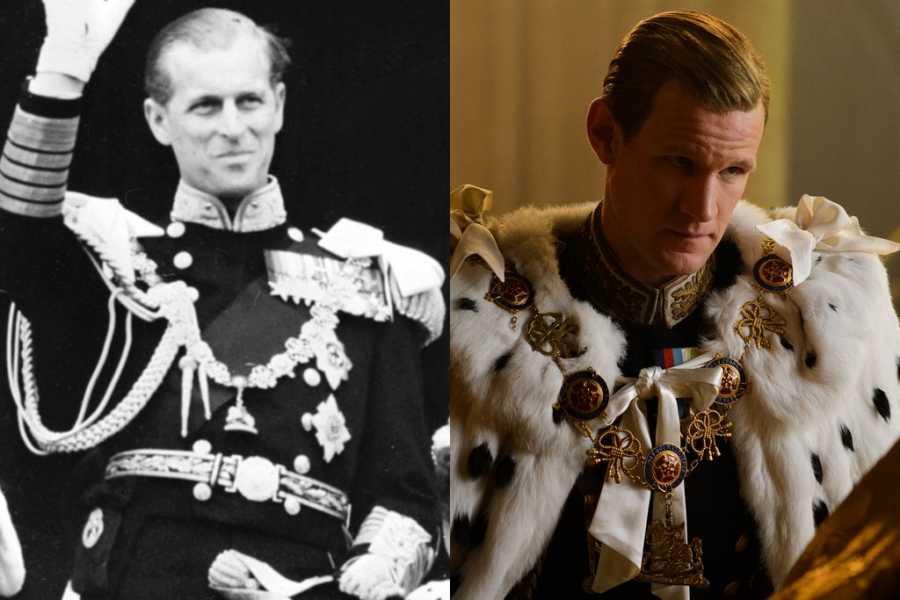 The Crown Prince Philip Matt Smith