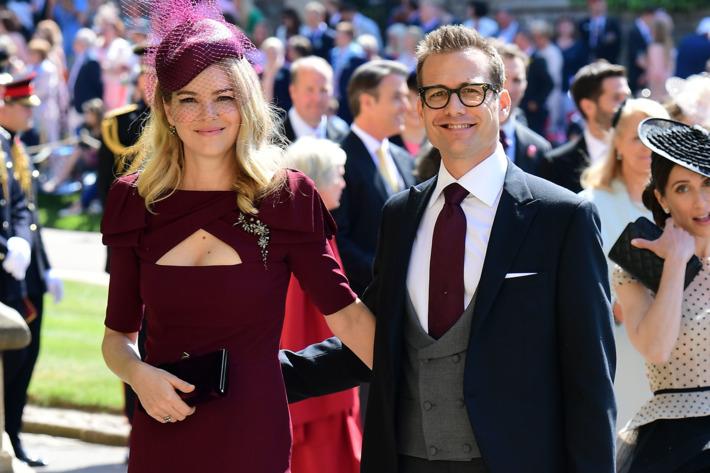 Gabriel Macht and Jacinda Barrett – suits
