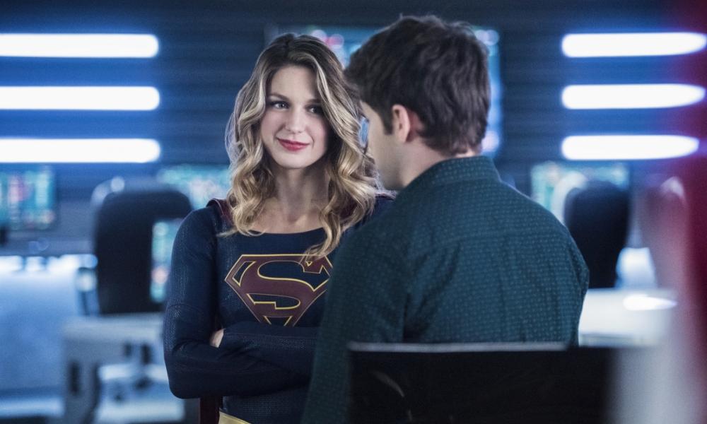 Jeremy Jordan e Melissa Benoist in Supergirl