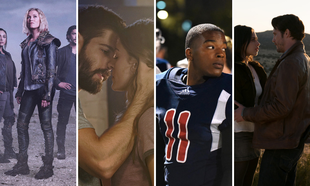 The CW rinnova: The 100, Roswell,New Mexico, All American e In The Dark